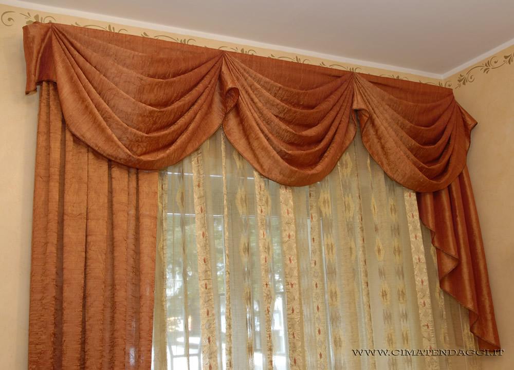 Mantovane per tende tende con mantovane torino cima - Pali per tende da interno ...