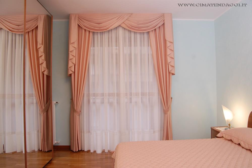 Mantovane per tende tende con mantovane torino cima for Tende da arredo casa