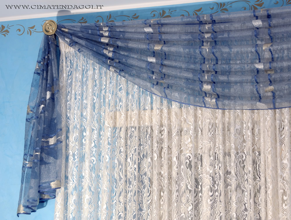 Mantovane per tende tende con mantovane torino cima tendaggi - Modelli di mantovane per camera da letto ...