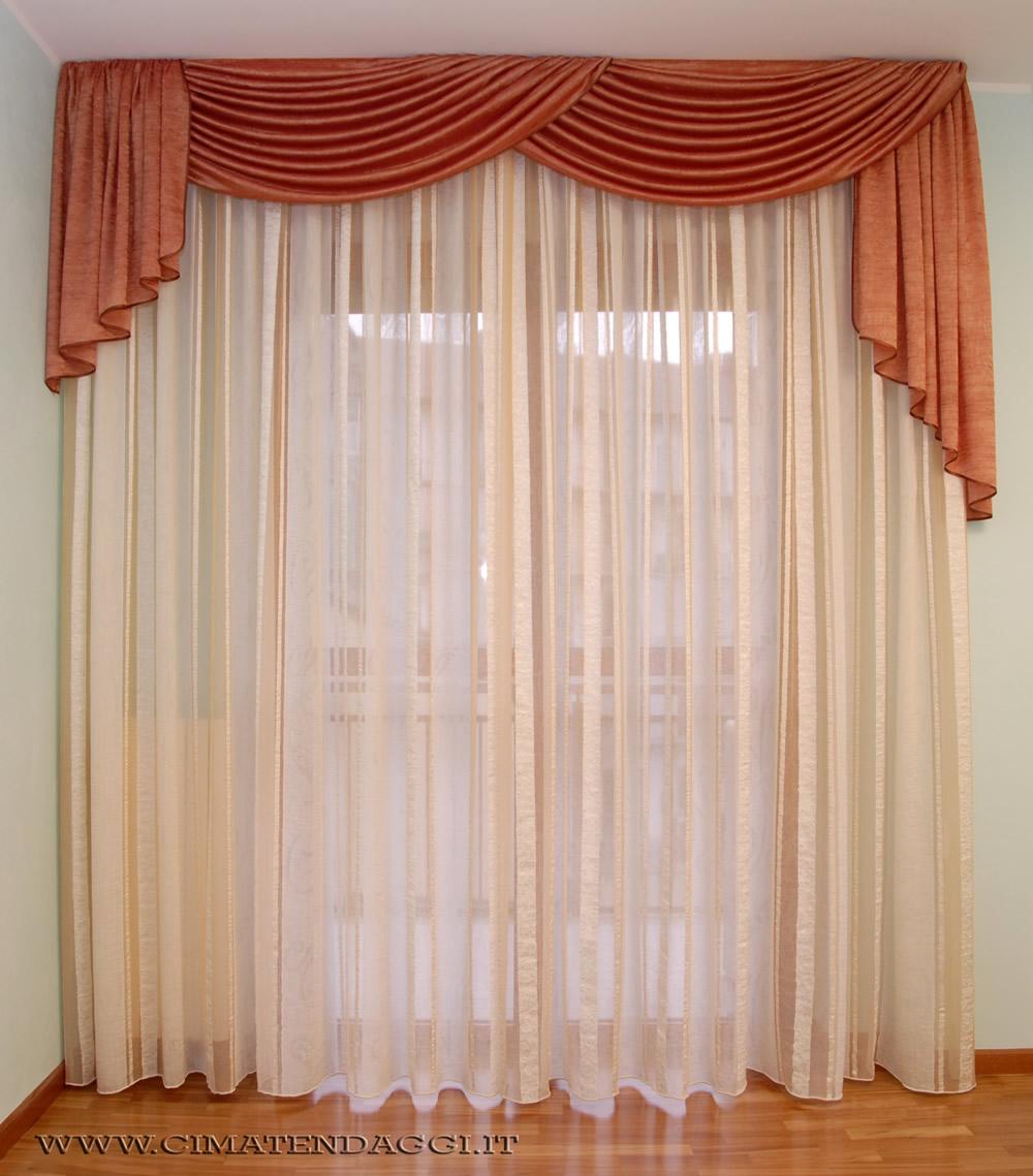 Tende Stanza Da Letto Classica mantovane per tende, tende con mantovane torino | cima tendaggi